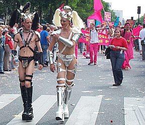 Гей-парад в Москве 16 мая 2009