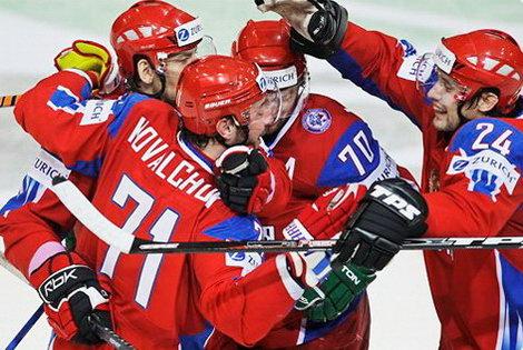 Россия выиграла чемпионат мира по хоккею 2009