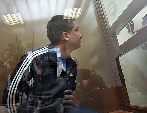 Денис Евсюков под стражей