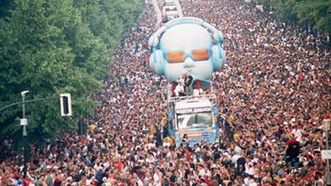 Парад любви в Германии - толпа